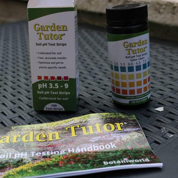 Garden Tutor Soil pH Test Strips Kit